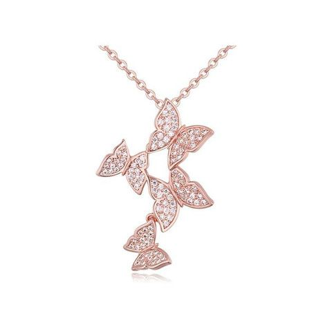 Kaleidoscope Zircon necklace – Pink Hippo Store