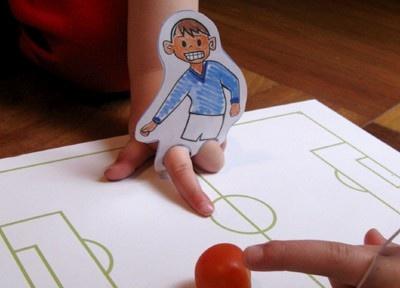 voetbalmannetjes / pingpongvoetbal