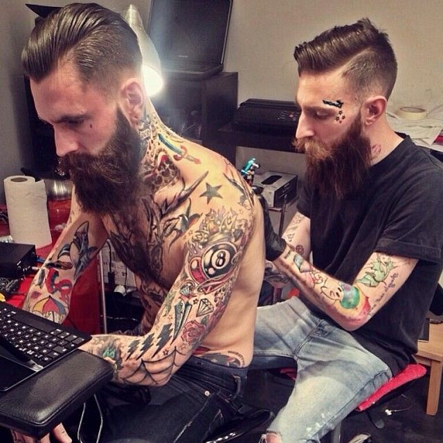 Ricki hall for People getting tattoos