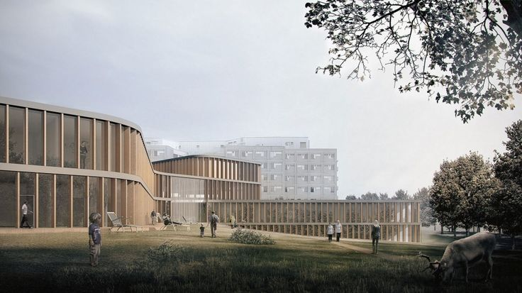 Verstas Architects Win Competition to Expand Lapland Central Hospital in Finland