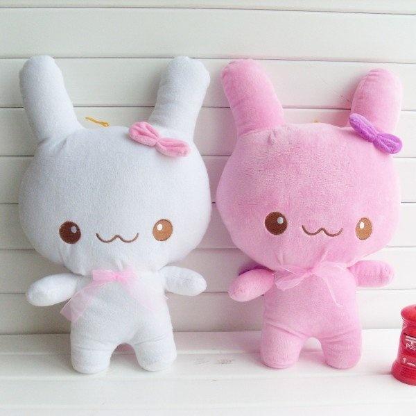 <3 adorable bunny plushies!