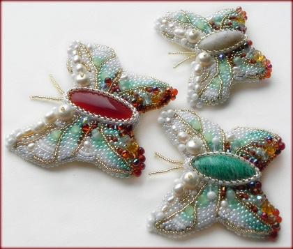 Brooch Beads...