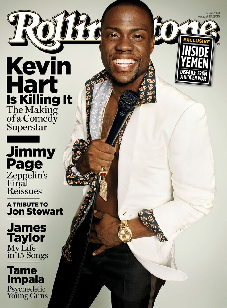 Kevin Hart on the August 13, 2015 cover