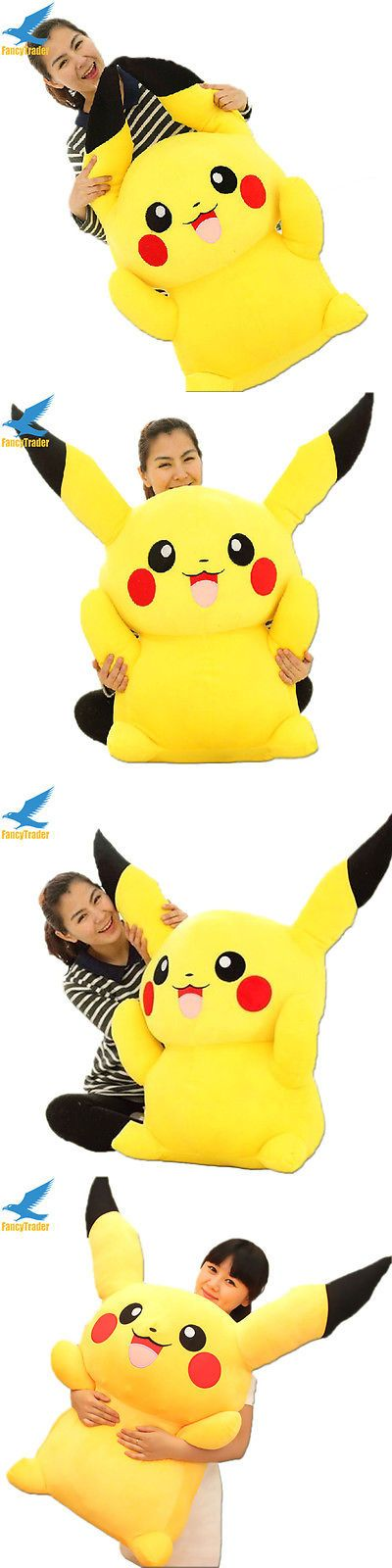 Stuffed Animals Beanbag Plush 51030: Giant Pikachu Plush Soft Toy Big Stuffed Filled Doll Huge Kid Best Birthday Gift -> BUY IT NOW ONLY: $88.88 on eBay!