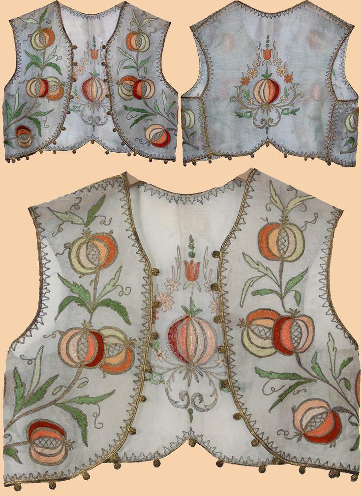 Ottoman turkish vest