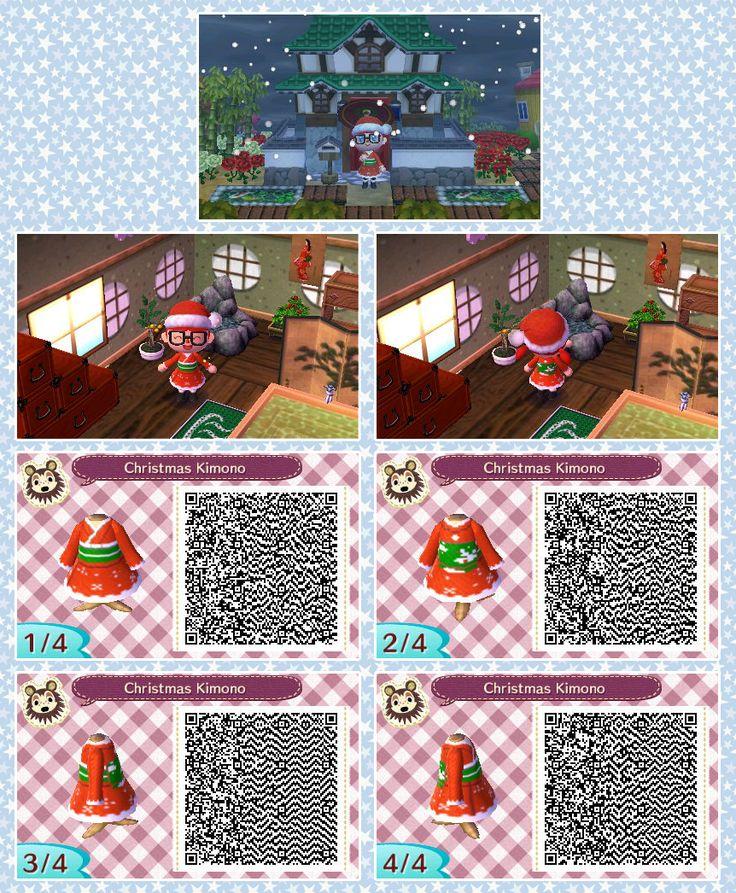 Christmas Kimono ACNLQR