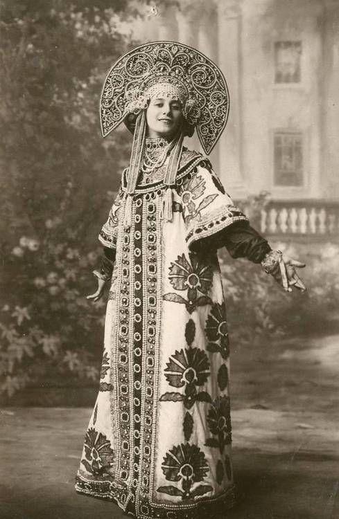 Anna Pavlova  insp. for my Queen Coat