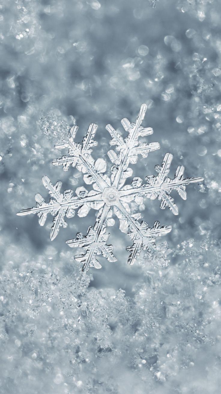 1080×1920 Ice Snowflake iPhone 7 Plus Wallpaper Â…