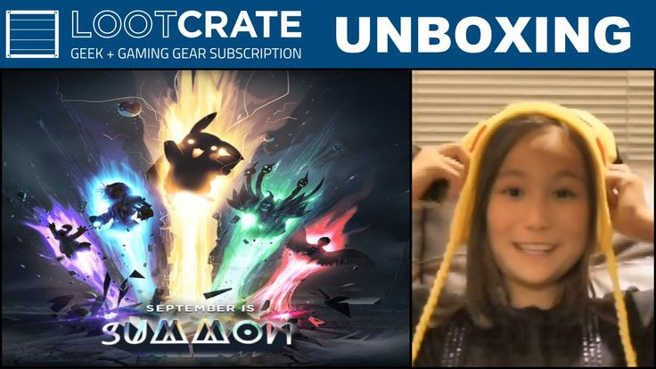 Loot Crate September 2015 - Summon!!