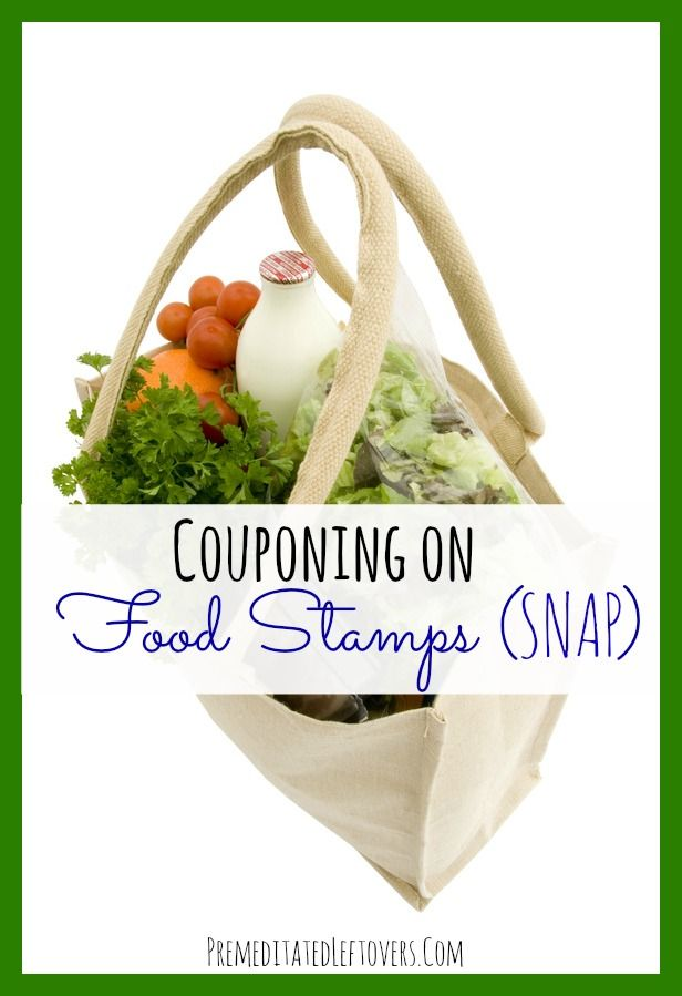 Couponing On Food Stamps (SNAP) - You can use coupons with food stamps (SNAP). Here are tips for how to stretch your food stamps further by using coupons.