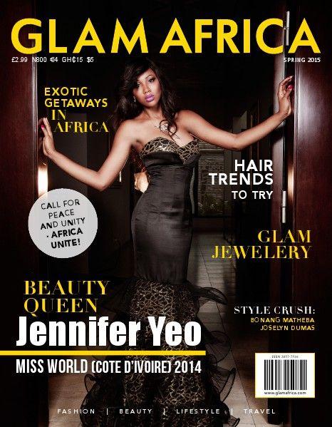 Jennifer Yeo - Miss World Cote d'Ivoire - Glam Africa