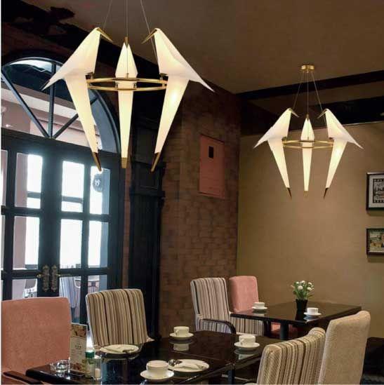 Lampada a sospensione modello pajaritos complementi e for Illuminazione d arredo