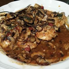 Hands down, this is my favorite chicken marsala recipe. It's absolutely amazing - the rich marsala sauce, with bits of garlic and pops of parsley is OUT. OF. THIS. WORLD. Trust me on this one. Whet...