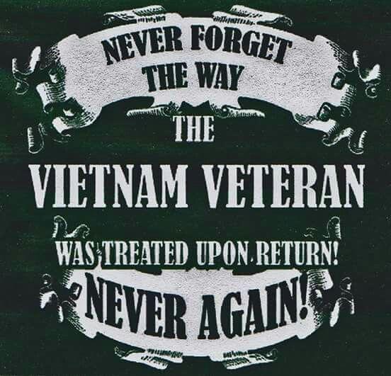 Never forget the Vietnam vet