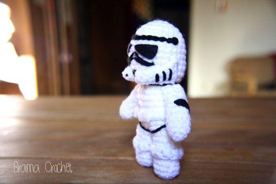 Stormtrooper  Star Wars Amigurumi doll por BramaCrochet en Etsy