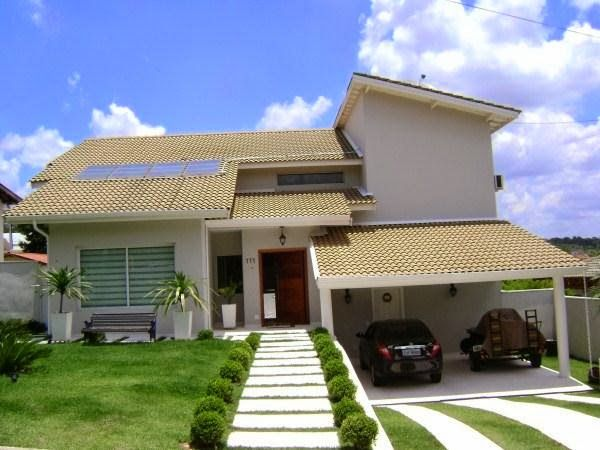 Decor Salteado - Blog de Decoração | Design | Arquitetura | Paisagismo: Fachadas de casas de sobrados – veja 50 modelos lindos!