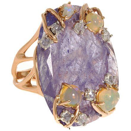 Tanzanite and Opal Ring  $10,275 barneys.com
