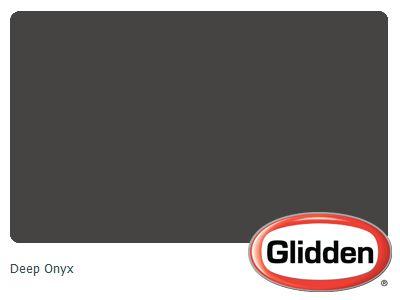 Deep Onyx Paint Color By Glidden Glidden Paint Colors