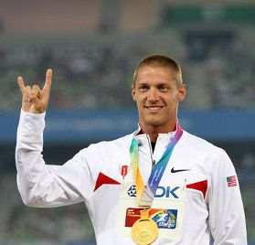 Austinite Trey Hardee (UT '06) is a favorite to win the Decathalon when he returns to the Olympics this summer.