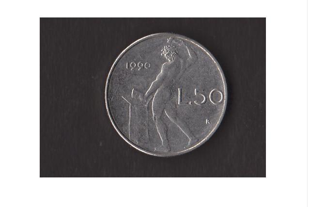 50 Lire mini 1990