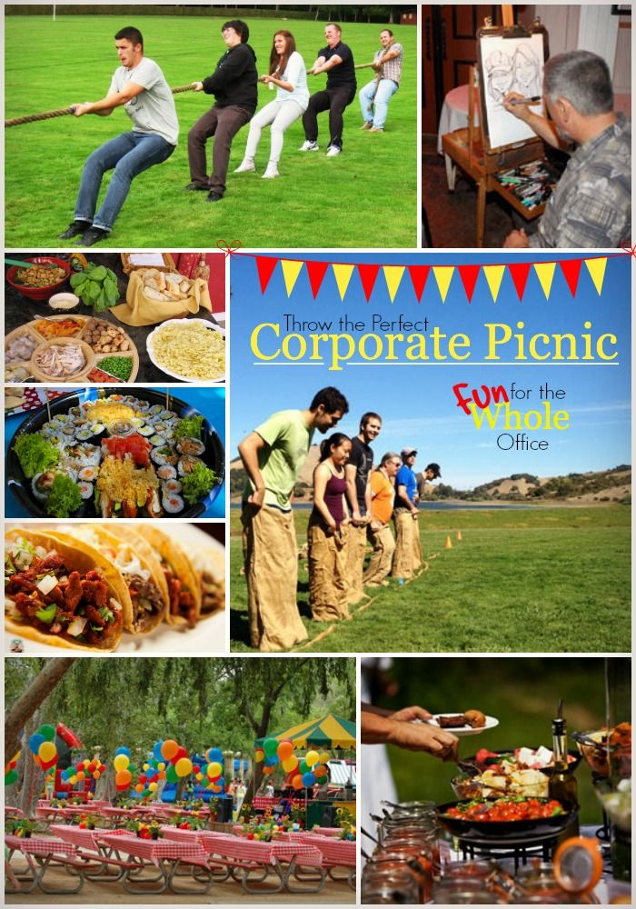 Are you responsible for planning your company's corporate picnic or summer family outing? This blog covers fun ways to keep an entire office happy! #Snappening