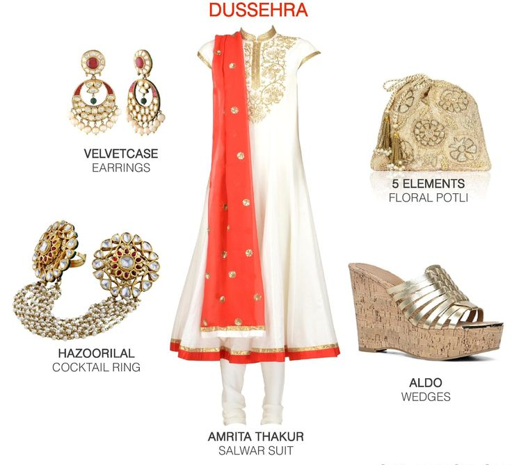 A traditional red and white colour palette for the final day of festivals. #fashion #festive #ootd #style #lookbook #womenswear