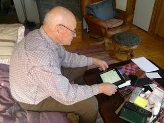 iPad sopiin senioreidenkin käyttöön.