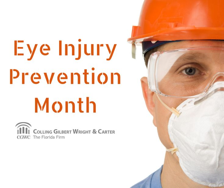 90 of all eye injuries are preventable with the use of