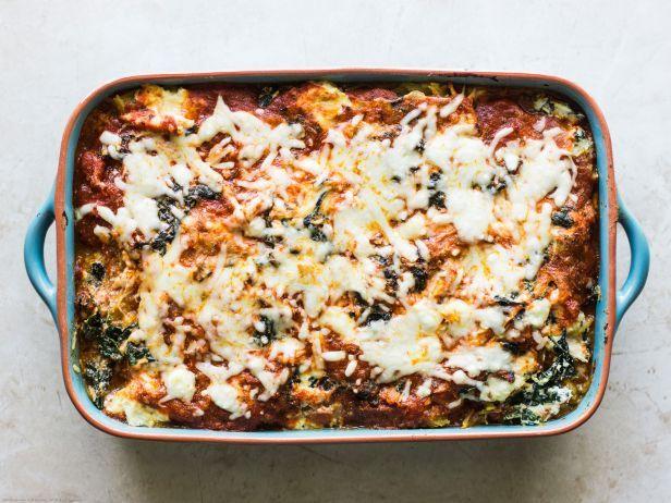 Spaghetti Squash Chicken Lasagna : Food Network | Healthy Eats – Food Network Healthy Living Blog
