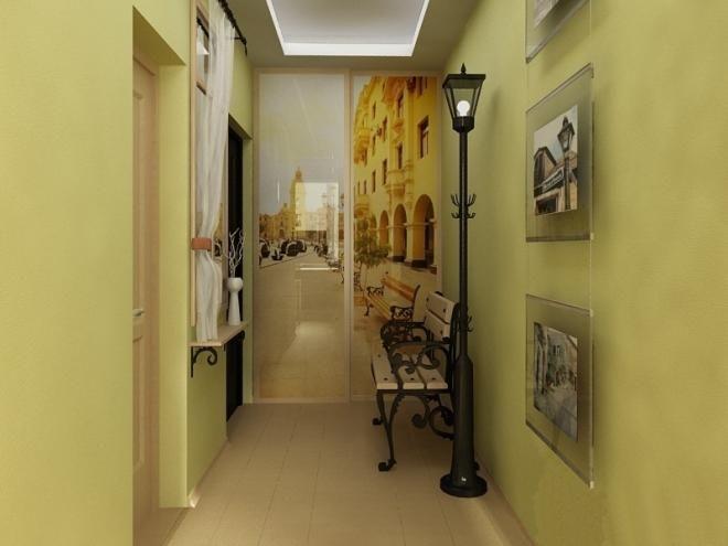 дизайн прихожей коридора в хрущевке 12 фото dizajnbox.ru