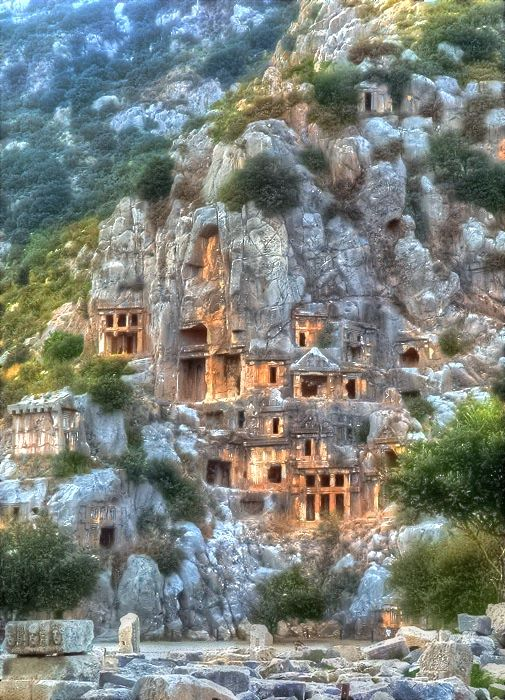 Ancient Town in Lycia, Turkey