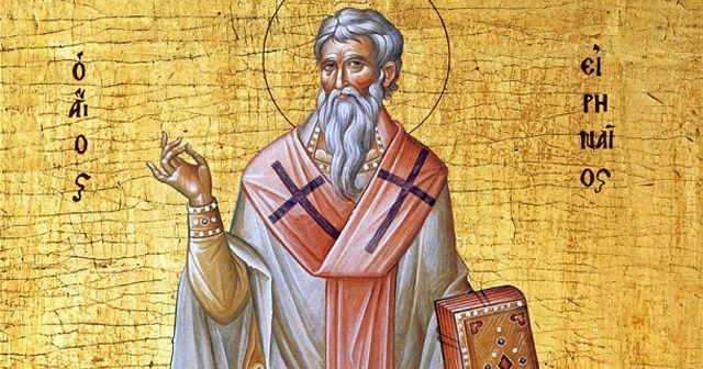The writings of St. Irenaeus, Bishop of Lyon, (c.125-202) entitle him to a high place among the fathers of the Church, for they not only laid the foundations of Christian theology but, by exposing and refuting the errors of the gnostics, they delivered the Catholic Faith from the real danger of the doctrines of those heretics.