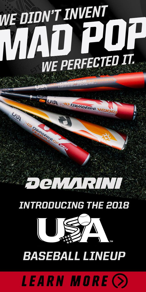 USA Baseball approved DeMarini bats are now available at JustBats. CF Zen, Voodoo, and the Uprising are all ready to take the diamond by storm. Shop today with free shipping!