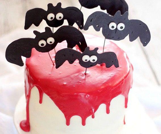 Торт Вампир на Хэллоуин | Блог о праздниках
