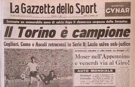 Il Torino è campione (1976)