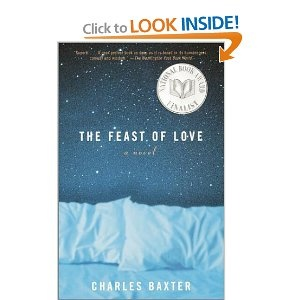 The Feast of Love. Love Charles Baxter (an Ann Arbor professor!) One of my favorite books.