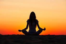 Sunset Yoga helps my lighter side!
