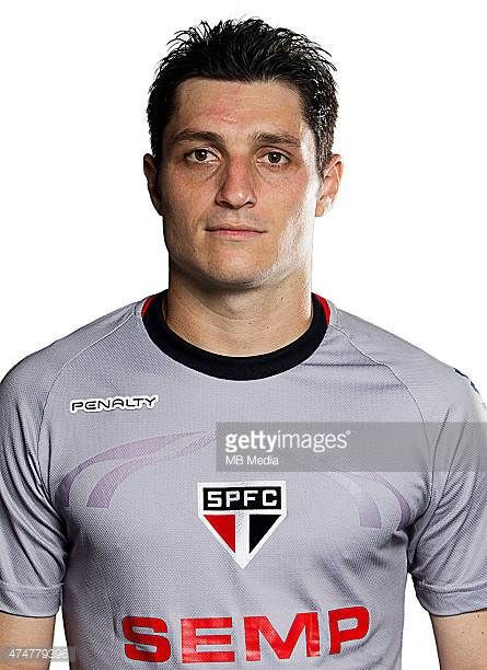 Denis Cesar de Matos of Sao Paulo Football Clube poses for a portrait on August 14 2014 in Sao PauloBrazil