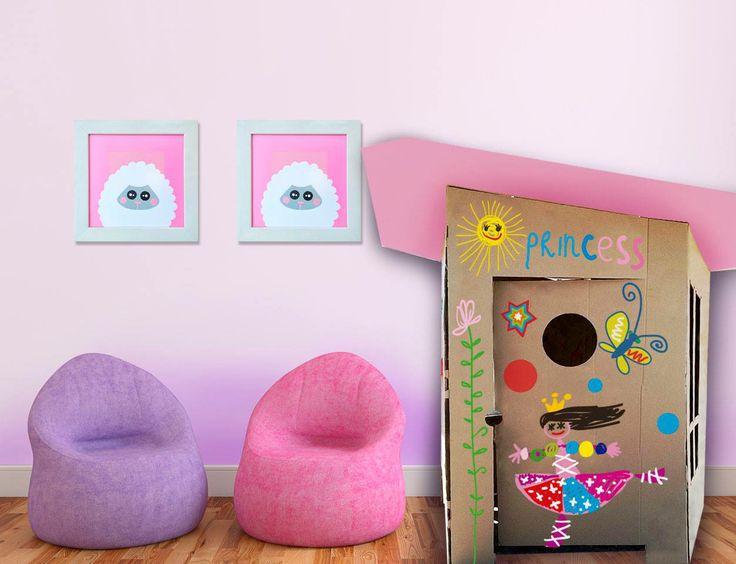 #bebe #juguete #ecologico #casita #carton #decoracion #creativo  Compra en http://www.regalosdirecto.com.mx/para-el-bebe/igriega-kids.html