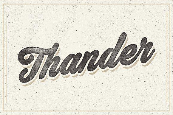 Thander by artimasa on @creativemarket