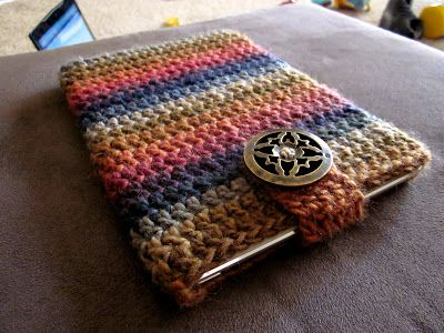 Craft Sauce: Easiest Crocheted Ipad Mini Cozy pattern.