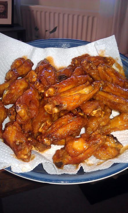 Home Made Hot Wings Recipe