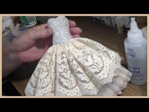 Art Dress Tutorial - Part 1 - Paper Mache Bodice - YouTube