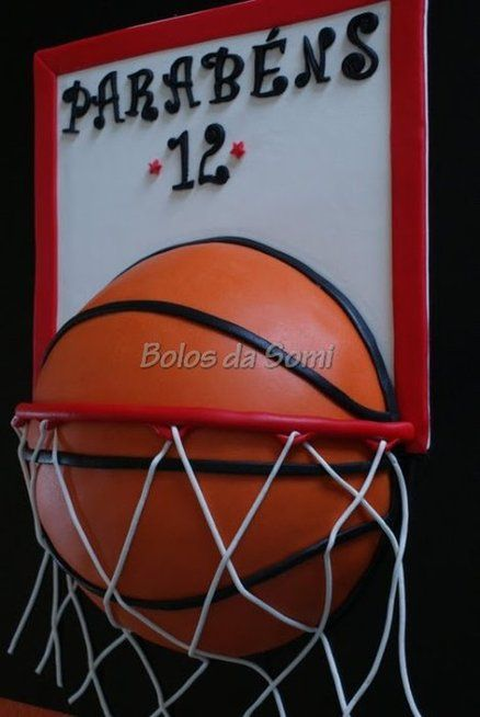 Basketball - by bolosdasomi @ CakesDecor.com - cake decorating website