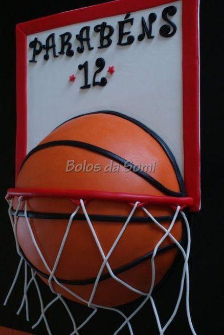 Basketball - by bolosdasomi @ CakesDecor.com - cake decorating website