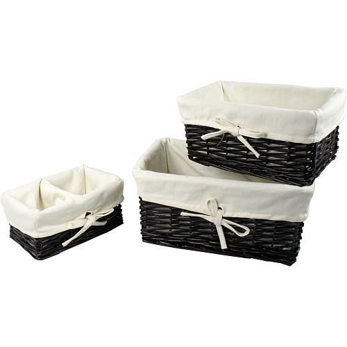 The Koala Baby 3 Piece Basket Set In Espresso Is The Ideal Storage Solution  For Organizing Babyu0027s Clothes And Accessories. The 3 Piece Set Includes One  ...