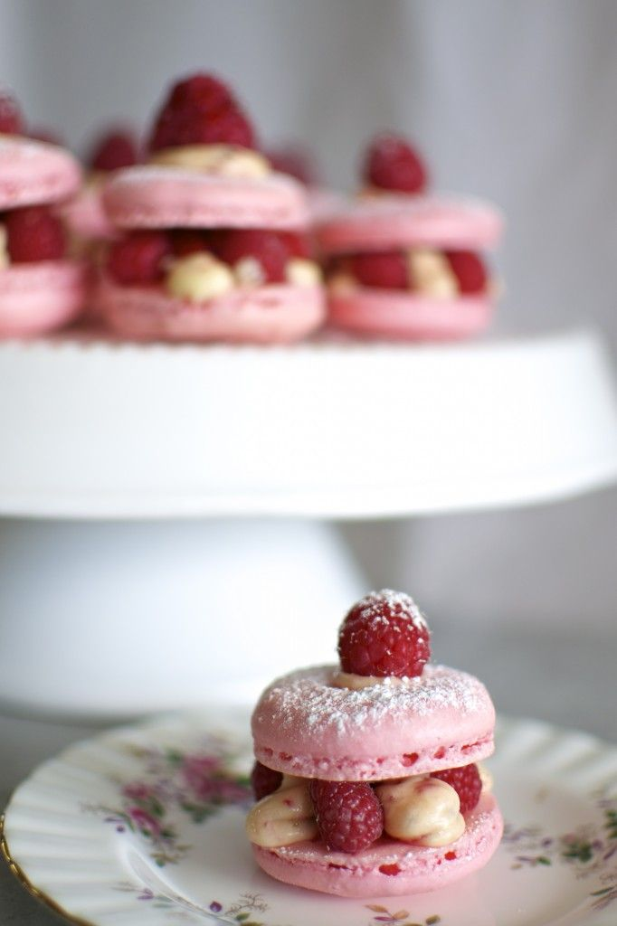 butter and brioche | Rose, Raspberry and Pink Peppercorn Macaron ...