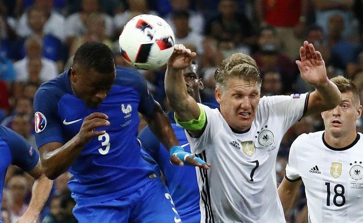 Franek i jego wędrówki: Euro 2016. Niemcy - Francja. Nie wygrali z Niemcam...