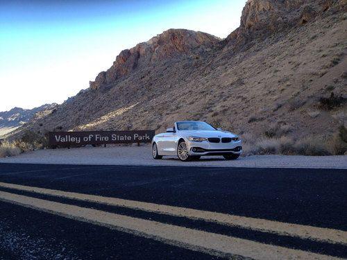 BMW Serie 4 convertible en el Valle de Fuego