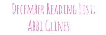 Lila's Spot.: December // Reading List